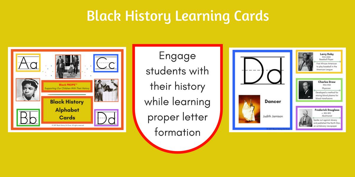 Black History Alphabet Charts