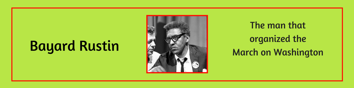 Bayard Rustin Civil Rights Activist