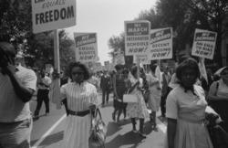Women at March on Washington