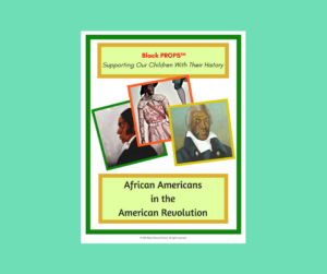 African American in American Revolution Cards