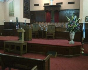 Ebenezer Baptist Church Santuary